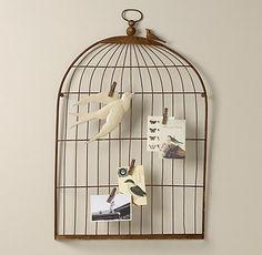 Bird Cage Wall Art