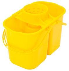 Balde Plástico com escorredor e divisão água limpa e água suja