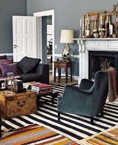 Home of owners of DAY. Pictures from Elle Interiör (swe) photographed by Petra Bindel. via @Erin Loechner