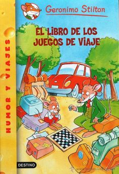 ¿Os vais de viaje? ¡En este libro encontraréis muchos juegos para el coche, el autocar, el tren, el barco, el avión... y divertiros juntos! ¡Buen viaje, amigos roedores! A partir de 8 años.
