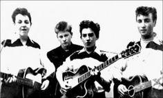 Los Beatles en sus inicios