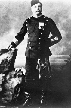 Charles Baker VC Commander 1st Bengal Military Police Battalion