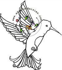 Humming Bird - $4.00