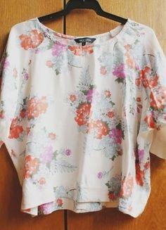 Kup mój przedmiot na #vintedpl http://www.vinted.pl/damska-odziez/koszulki-z-krotkim-rekawem-t-shirty/15474173-new-look-crop-top-oversize-34-36