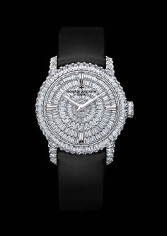 21ee44885db3 Vacheron Constantin apos s Patrimony Traditionnel high jewellery small model  is set with prong-set