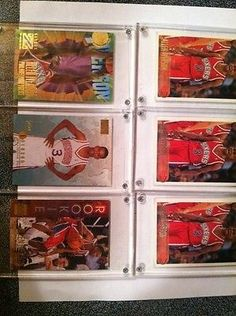 nice Allen Iverson 6 Card Rookie Lot - For Sale View more at http://shipperscentral.com/wp/product/allen-iverson-6-card-rookie-lot-for-sale/