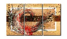 Hand Painted Canvas Art – Page 2 – Art Painting Canvas 3 Piece Canvas Art, 3 Piece Painting, Texture Painting On Canvas, 3 Piece Wall Art, Hand Painting Art, Online Painting, Paintings Online, Large Canvas, Large Painting