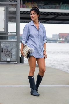 Rain, rain... | by Girls in Hunter Boots and more | woman in ...