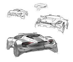 Porsche ROT Spyder on Behance