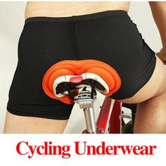 54e8d76a6 Hot Sale Unisex Black Bicycle Cycling Comfortable Underwear Sponge Gel 3D  Padded Bike Short Pants Cycling Shorts Size S XXXL-in Cycling Shorts from  Sports ...