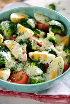 Healthy Foods To Make, Healthy Salad Recipes, Healthy Snacks, Easy Cooking, Healthy Cooking, Cooking Recipes, Helathy Food, Best Appetizers, Food Dishes