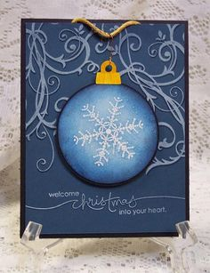 Snowflake Ornament by LauraGW - Cards and Paper Crafts at Splitcoaststampers