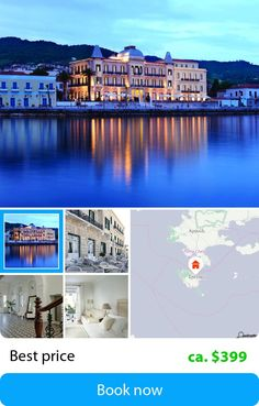 Poseidonion Grand (Spetses Town, Greece) – Book this hotel at the cheapest price on sefibo.