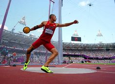 In second place after Day 1 of decathlon, Trey Hardee held on to win silver for the U.S. #london2012