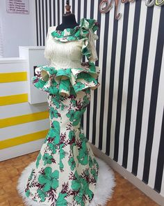 2020 Ebi Styles For Modern Women That Want To Slay - Dabonke : Nigeria Latest Gist and Fashion 2019 African Dresses For Kids, African Fashion Ankara, Latest African Fashion Dresses, African Dresses For Women, African Print Fashion, African Attire, Lace Skirt And Blouse, Ankara Skirt And Blouse, African Lace Styles