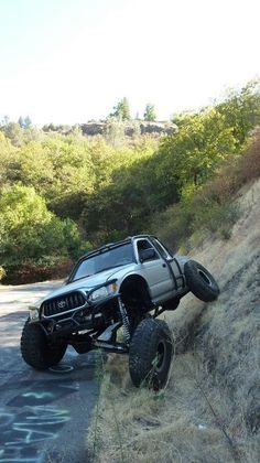 Toyota Tacoma Crawler. Now this is 4X4! Let us help you build your off road truck!  www.cochranetoyota.com www.cochraneservice.com #cochranetoyota #tacomatown #4x4