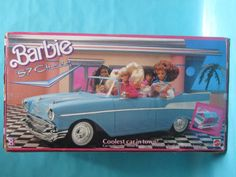 lol no box for my Barbie car!