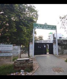 Aligarh Muslim University, Sidewalk, Side Walkway, Walkway, Walkways, Pavement