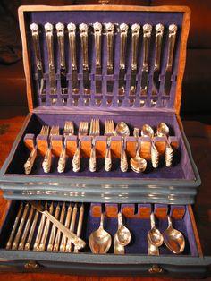 Eternally Yours Silverplate Dinner Set