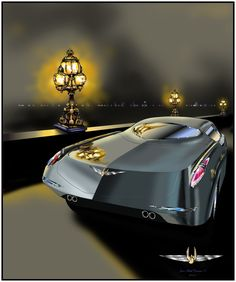 2014 Concept Chrysler Imperial project for The League of Retired Automobile Designers Automotive Art, Automotive Industry, Syd Mead, Chrysler Imperial, Old Cars, Mopar, Concept Cars, Dream Cars, Automobile