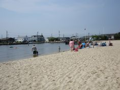 Bay Beach In Unit Iii Ocean New Jersey This Is Where I Learned To Swim