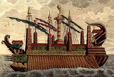 El Siracusia, el transatlántico de la antigüedad   franciscojaviertostado.com #historianaval #historia