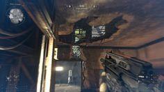 Na divisão pequena em frente à base VSA no buraco do tecto