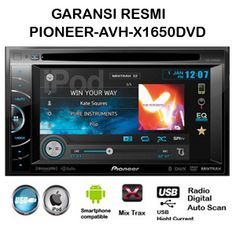 Produk Head unit TV mobil Double Din Pioneer.