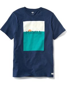 Short-Sleeve State Graphic Tee for Men