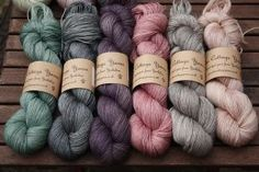 Eden Cottage Yarns - Hand dyed yarn from Yorkshire