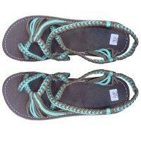 Thai Sandals - Aqua