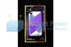 Apple iPhone 4 / 4S More CD Pattern Plastic Protective Case (Purple)