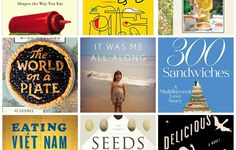 Whether you're into something light and quick or more pensive and poignant, here are 20 new food books for you to read this summer.