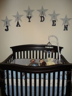 Jayden's baby room- Dallas cowboys