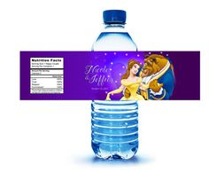 Hey, I found this really awesome Etsy listing at https://www.etsy.com/listing/275964950/40-disneys-beauty-the-beast-water-bottle