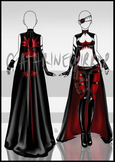 (CLOSED) Adopt Auction - Outfit 3 by cathrine6mirror on DeviantArt