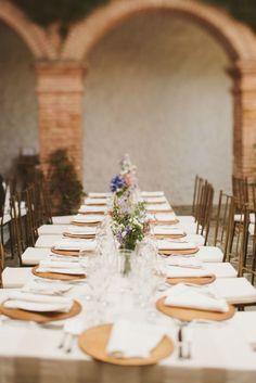 tavola matrimonio lunga