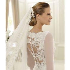 modest wedding dresses lace 2012