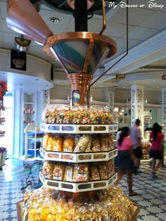 The Confectionary - LOVE this little shop on the corner in Magic Kingdom