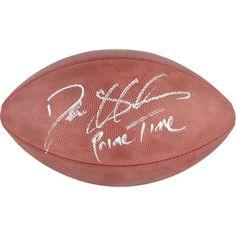 Deion Sanders San Francisco 49ers Fanatics Authentic Autographed Duke Pro NFL Football with Prime Time Inscription