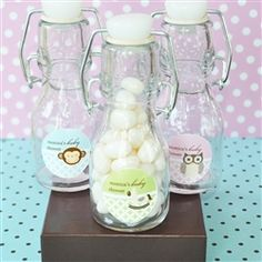 These are unique favors for a baby shower.