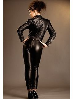 #Leather #Fetish #Lederfetisch #LeatherFetish Belted Biker B*tch Catsuit by Honour Clothing