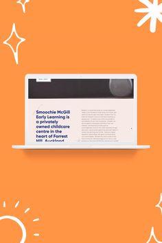Smoochie McGill Squarespace website Design Simply Whyte Design    #squarespace #websitedesign #childcarewebsite #earlylearningcentre #graphicdesign #squarespacewebiste #website