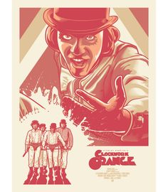 Alternative Movie Poster for A Clockwork Orange by Paul Ainsworth
