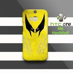 Wolverine Head and Chest HTC One M8 Case Cover Hardshell