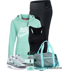 Workout Time, created by latkins77 on Polyvore