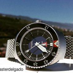 @masterdelgado #watch #watches #wristwatch #dailywatch #wristporn #wristshot  #watchesofinstagram #instawatch #pentax #pentaxcamera #pentaxk5 #watchphotography #watchoftheday #crepasdecomaster #crepas #crepaswatches #tacticowatches #decomaster #divewatch #divewatches #diverwatches