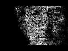 Photoshop: Transform a Face into a Powerful Text Portrait - YouTube