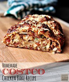 Homemade Costco Chicken Bake Recipe | KansasCityMamas.com
