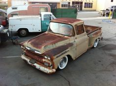 1959 Chevy Apache with original paint and character